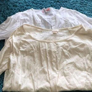 Tops - Lot of two tops